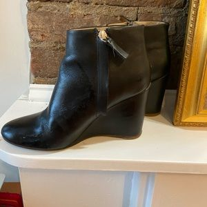 COS Black ankle boots